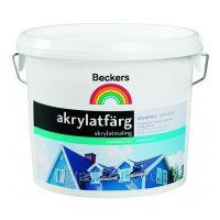 Краска фасадная Beckers Akrylatfarg BAS A 2,7 л