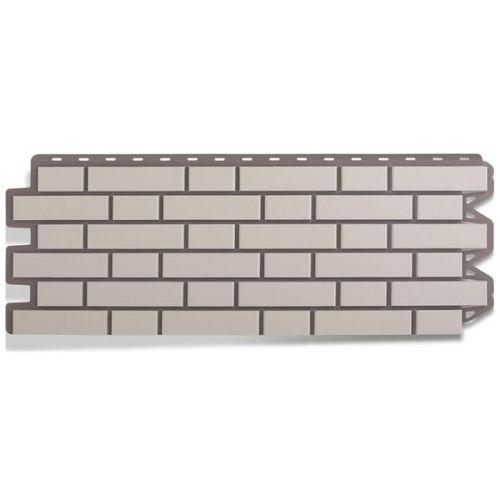 Панель фасадная Альта Профиль Кирпич клинкерный белый 1220х440 мм
