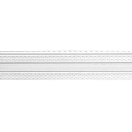 Софит Доломит с двойной перфорацией белый 3000 мм