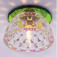 Светильник точечный встраиваемый Italmac Bohemia 220 5 72 G9 мультиколор 40 Вт