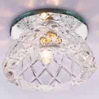 Светильник точечный встраиваемый Italmac Bohemia 220 6 70 G9 прозрачный 40 Вт