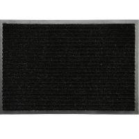Коврик влаговпитывающий Double Stripe Doormat черный 90х150 см