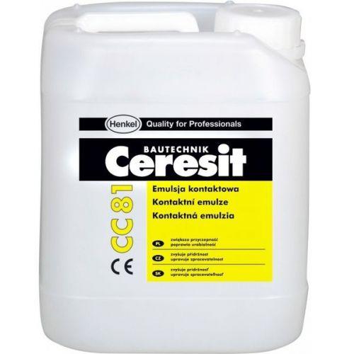 Добавка для цементных растворов и бетонов Ceresit CC 81 адгезионная 10 л