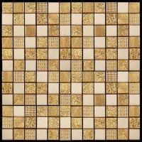 Мозаика из мрамора и агломерата Natural Pharaoh CPR-2302