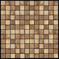 Мозаика из мрамора и агломерата Natural Pharaoh CPR-2305