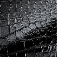 Стеновая панель Sibu Structure Line Croconova Magic Black 2612х1000 мм самоклеящаяся