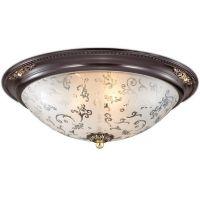 Светильник потолочный Odeon Light Corbea 2671/3C коричневый E27 3х60W 220V