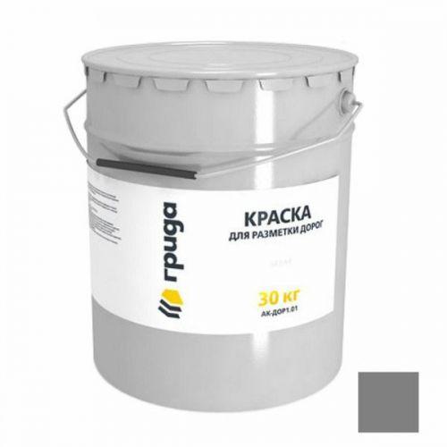 Краска для разметки дорог Грида АК-Дор 1.01 серая