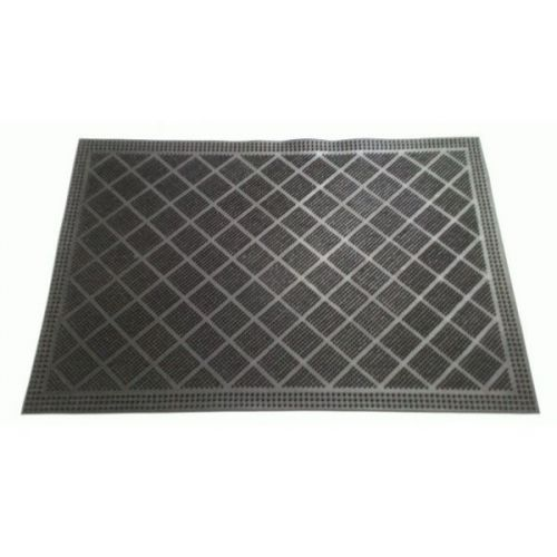 Коврик резиновый с рисунком Cleanwill DRP 215 Diamond mat 400х600 мм