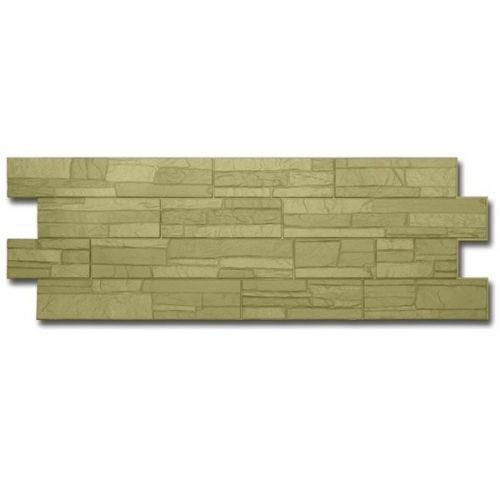 Панель фасадная Docke Stein Grunenstein Камень зеленый 1196х426 мм