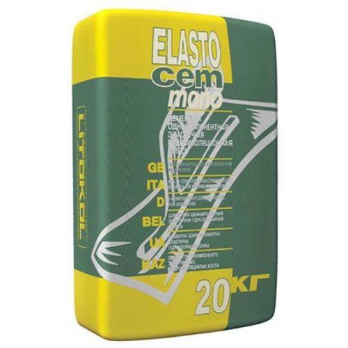 Смесь гидроизоляционная однокомпонентная Litokol Elastocem Mono 20 кг