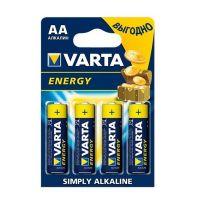 Батарейка алкалиновая Varta Energy AA 4 шт.