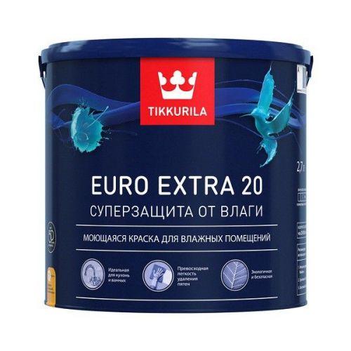 Краска Tikkurila Euro Extra-20 основа С0,9 л