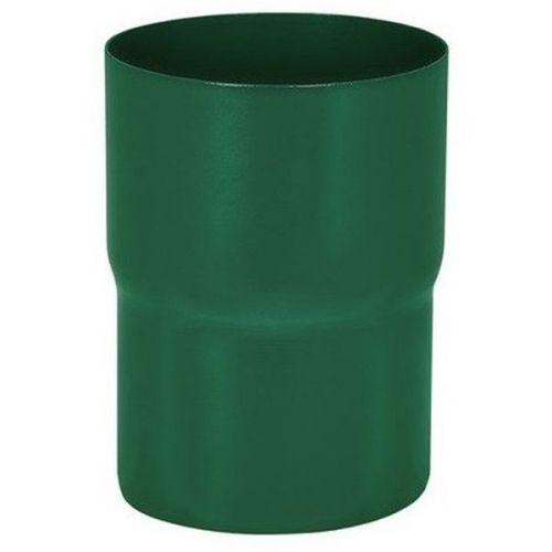 Соединитель трубы Aquasystem D125/90 мм RAL 6005 зеленый