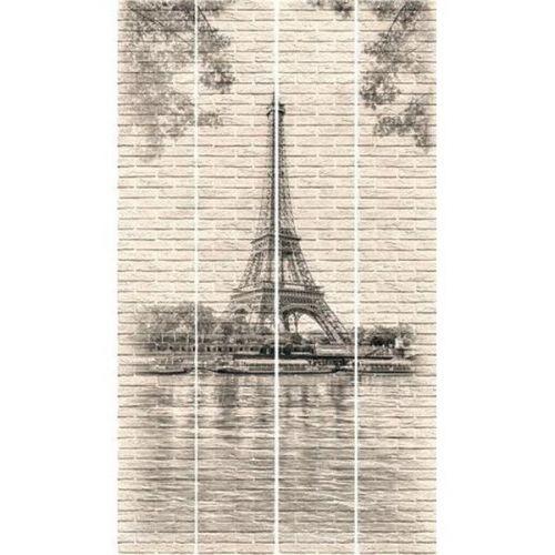 Стеновая панель ПВХ Venta Exclusive Эйфелева башня VE375E 742M 2700x375 мм