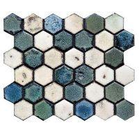 Мозаика керамическая Gaudi Hexa-4(2)