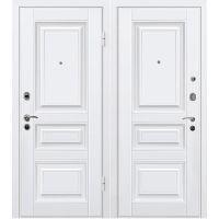 Дверь входная металлическая МеталЮр М11 860х2050 мм левая МДФ 12 мм белый