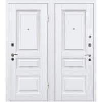 Дверь входная металлическая МеталЮр М11 960х2050 мм левая МДФ 12 мм белый