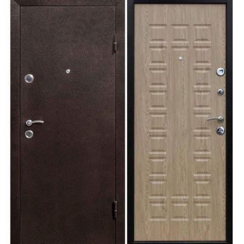 Дверь входная металлическая Йошкар Карпатская ель 960х2060 мм левая металл и МДФ 8 мм