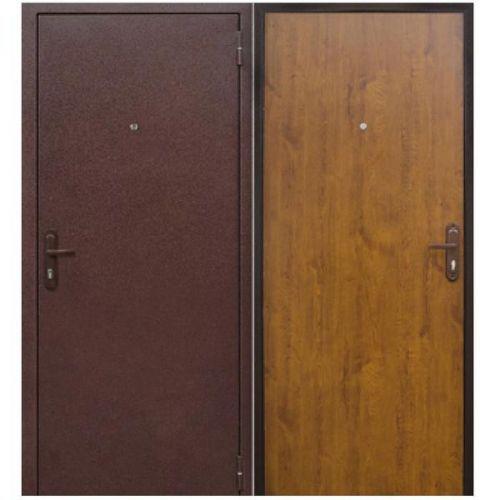 Дверь входная металлическая Йошкар СтройГост 5-1 Золотистый Дуб 960х2060 мм левая металл и МДФ 4 мм