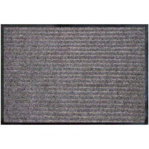 Коврик влаговпитывающий Double Stripe Doormat серый 80х120 см