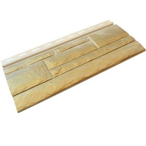 Панель фасадная Доломит Airside Скандинавский Золотистый шелк 3000х180 мм