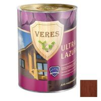 Пропитка для древесины Veres Ultra Lazura № 10 Каштан 20 л