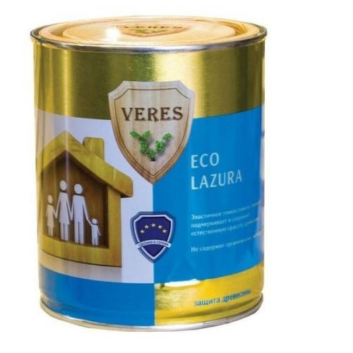 Пропитка для древесины Veres Eco Lazura № 1 бесцветная 0,75 л
