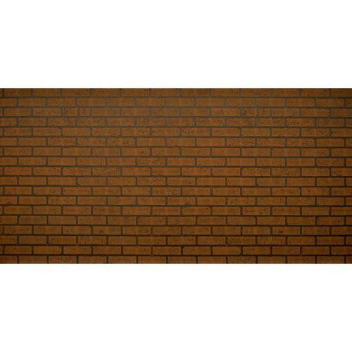 Стеновая панель МДФ Акватон Кирпич темный с тиснением 2440х1220 мм