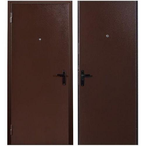 Дверь входная металлическая Меги 64 правая 970x2050 мм снаружи металл внутри металл