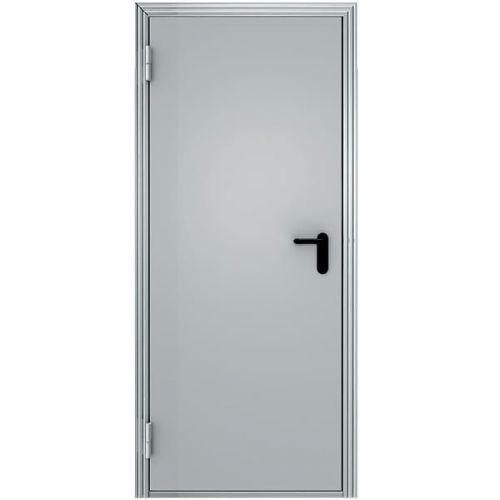 Дверь входная противопожарная стальная Меги ПДС-1 EI60 правая 970x2050 мм RAL 7038