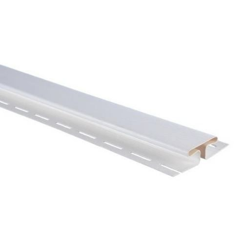 Планка соединительная для сайдинга Альта Профиль Т-18 белая 3050 мм