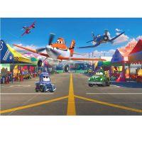 Фотообои бумажные Komar Planes Pit Stop 1-474 1,84x1,27 м