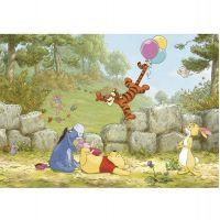 Фотообои бумажные Komar Winnie Pooh Ballooning 8-460 3,68x2,54 м