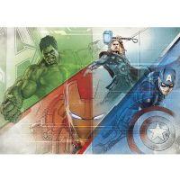 Фотообои бумажные Komar Avengers Graphic Art 8-456 3,68x2,54 м