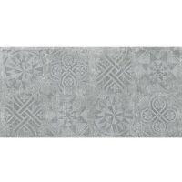 Керамогранит Idalgo Granite Stone Cemento Декор Серый структурный 1200х599 мм
