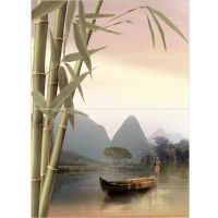 Панно керамическое Уралкерамика Бамбук ПН7БМ2 498х364х6,5 мм 2 плитки