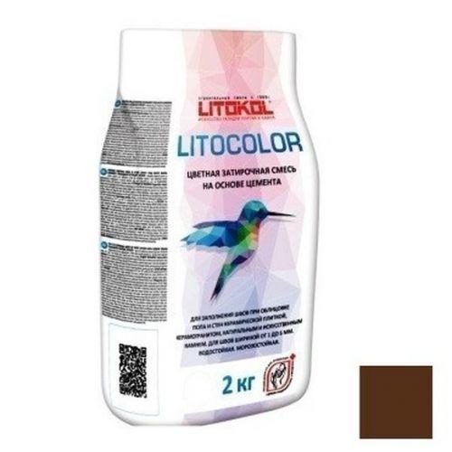 Смесь затирочная цементная для швов Litokol Litocolor L.27 Венге 2 кг