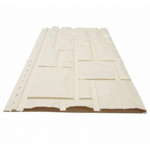 Панель фасадная Доломит Rockvin Слоновая кость 3000х260 мм