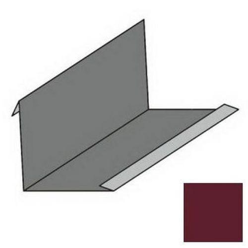 Планка примыкания угловая S4 Pe Ral 3005