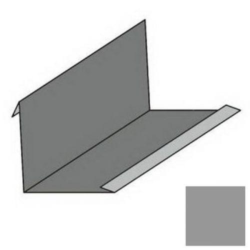 Планка примыкания угловая S4 Pe Ral 8017