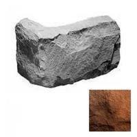 Угловой элемент KR Professional Грубый скол 04072 коричневый