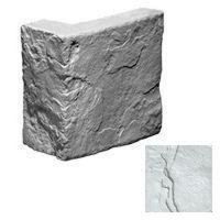 Угловой элемент KR Professional Средневековая стена 03322 белый