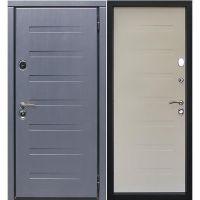 Дверь входная металлическая Сталлер Пиано левая 860x2050 мм снаружи и внутри МДФ с пленкой Винорит