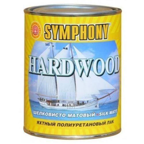 Лак яхтный Symphony Hardwood шелковисто-матовый 0,9 л