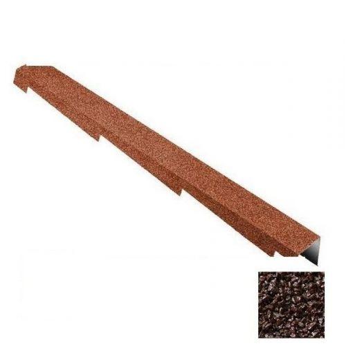 Планка торцевая Metrotile коричневая правая