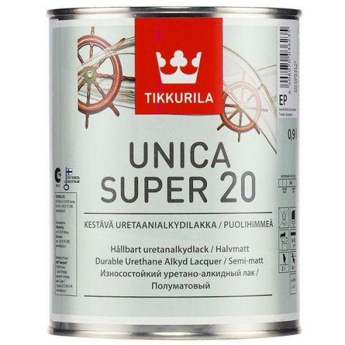 Лак Tikkurila Unica Super EP полуматовый 9 л