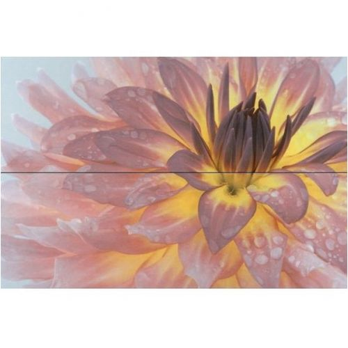 Панно керамическое Kerama Marazzi Искья STG\A444\2x\12093R Цветы обрезное 750х5000х9 мм