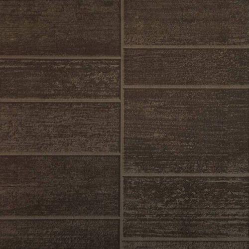 Стеновая панель ПВХ Venta Extrapan Милано мини шоколадный матовый VEA375R 124М 2600х375 мм