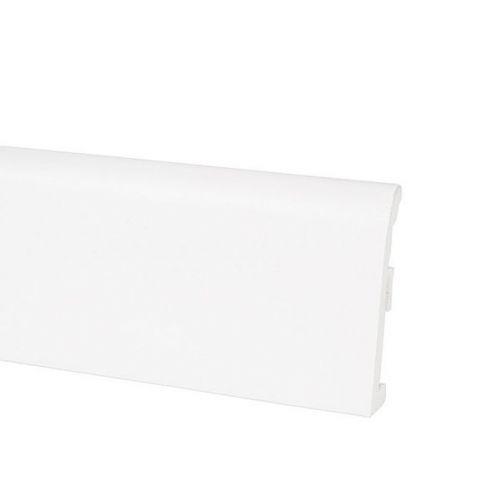 Плинтус ПВХ Korner Idea 80 белый 2500х80х10 мм